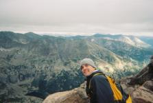 Paul on top of Longs Peak