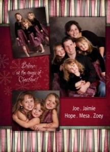 The Bartmann Christmas Card 2008