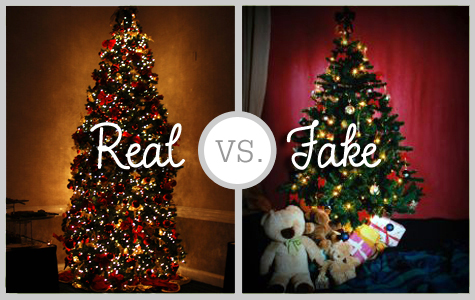 real vs. fake christmas tree debate
